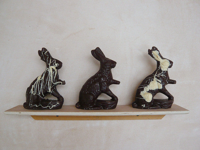 Solid Chocolate Hare