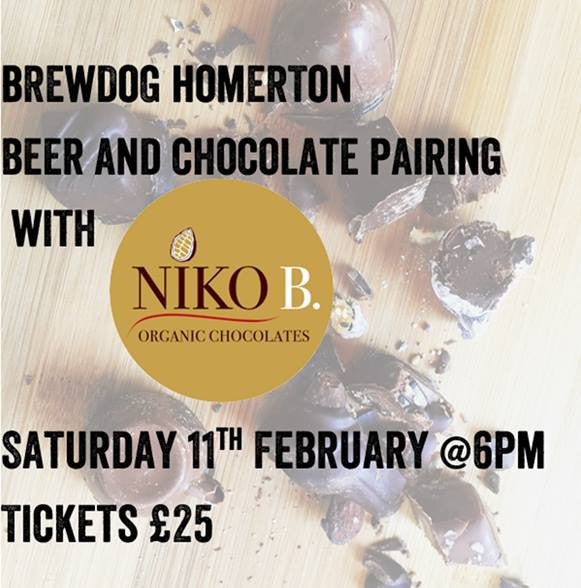 Brewdog Beer & Chocolate tasting