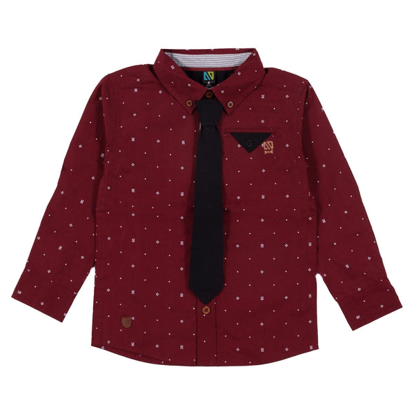 Chemise Pois Gentleman 2-12ans