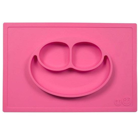 Set de table + assiette Happy Mat Rose