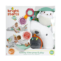 Tummy Time Prop & Play - Ours gris