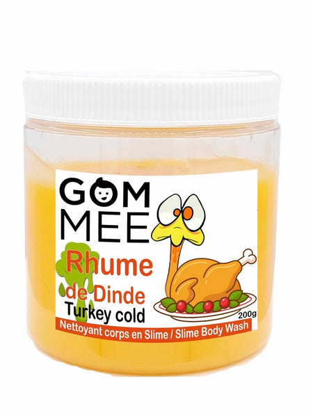SLIME MOUSSANTE RHUME DE DINDE 200G | GOMMEE