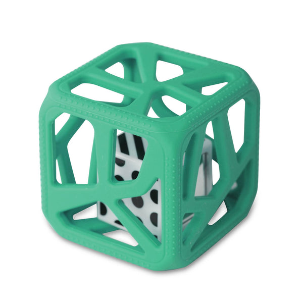 Chew Cube ™ Chew Cube ™ HOCHET DE DENTITION EASY-GRIP - Turquoise