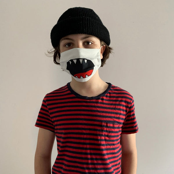 MASQUE ALTERNATIF NON MEDICAL POUR ENFANT ET ADULTE - Requin
