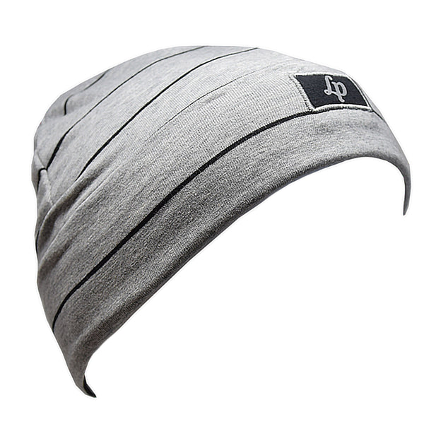 TUQUE BOSTON EN COTON (V20 GRIS MIXTE + NOIR)