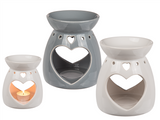 Heart Cut Out Wax/Oil Burners
