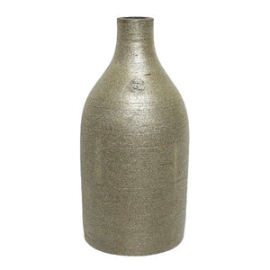 Ceramic Bottle Vase - Champagne