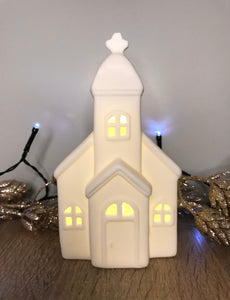 Christmas LED Ceramic Church