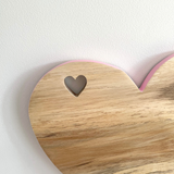 Fran Heart Chopping Board