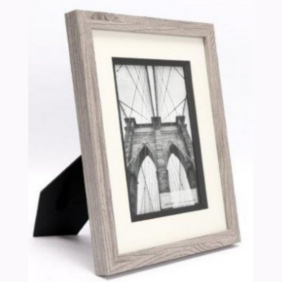 Greywash Wooden Photo Frame