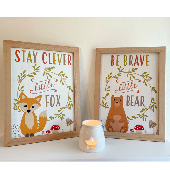 Little Fox or Little Bear sign