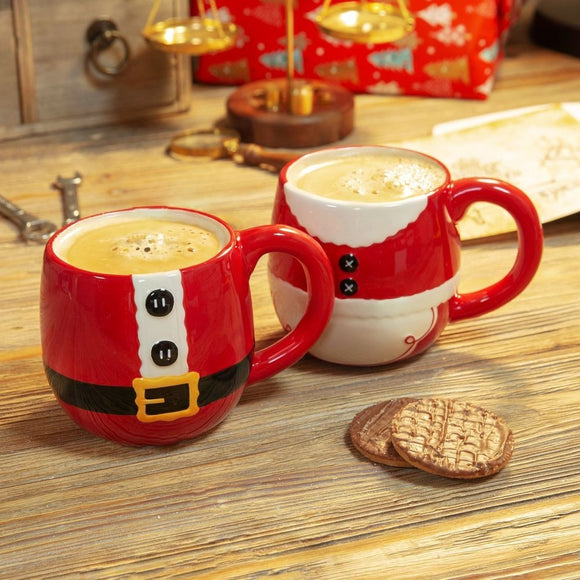 Mr and Mrs Claus Mugs