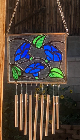 Morning Glory Wind Chime