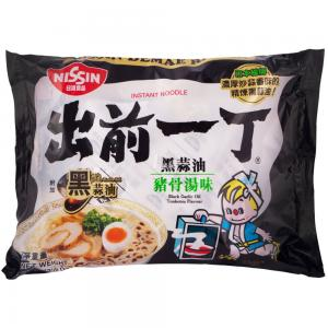 NISSIN Black Garlic Oil Tonkotsu Flavor