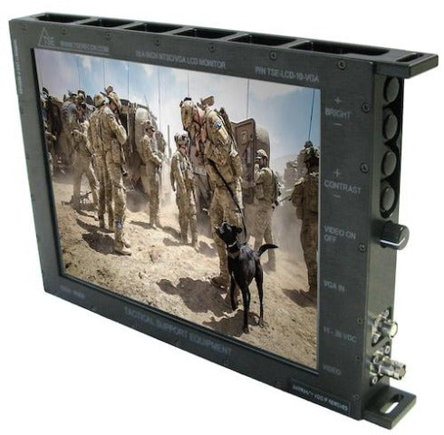 "10"" Rugged LCD Display Monitor"