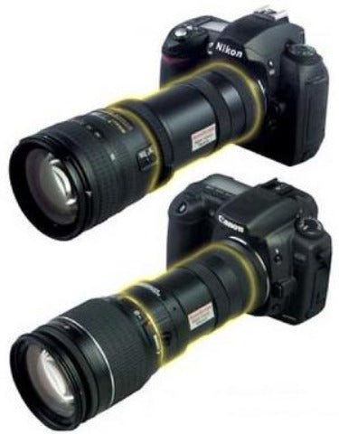Night Vision for DSLR Cameras