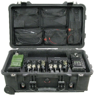 Dual Mobile Handheld Radio Box