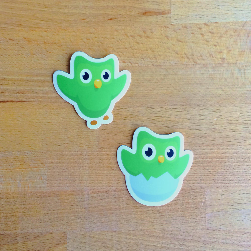 Owl Sticker Two-Pack
