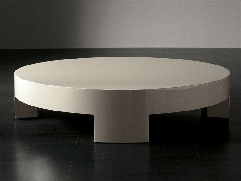 Su Round Coffee Table by Meridiani