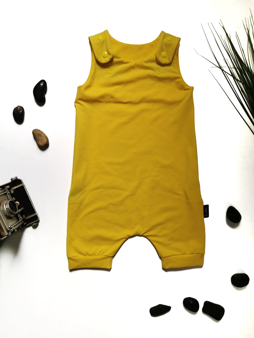Romper jaune flash court