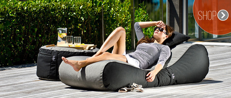Free Standing Outdoor Bean Bag Loungers