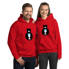 Load image into Gallery viewer, FMH Transgender Bear Logo Unisex Hoodie (7 colors)