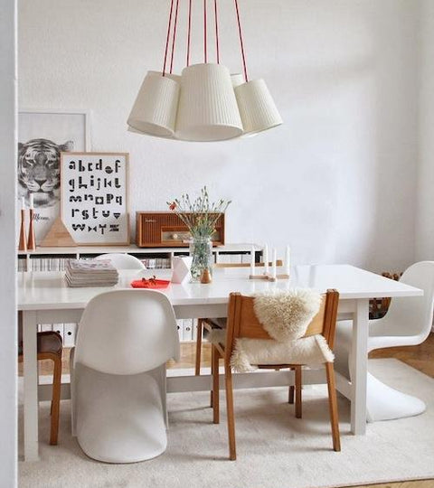 Modern Chairs, Charming Spaces