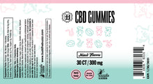 Load image into Gallery viewer, CBD Gummy, 300mg, mixed flavors