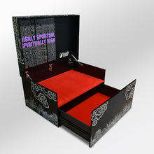 Load image into Gallery viewer, BuddhaBuzzz sneaker box/ shoe cabinet
