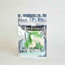 Load image into Gallery viewer, CBD Gummy 250mg, Apple