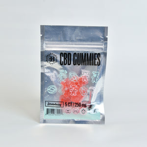 CBD Gummy 250mg, Strawberry