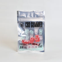 Load image into Gallery viewer, CBD Gummy 250mg, Wild Cherry