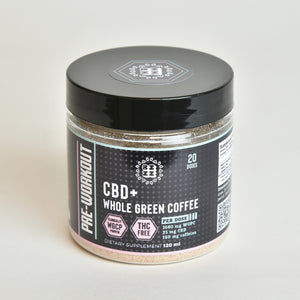 Pre-workout CBD + Green Coffee Powder