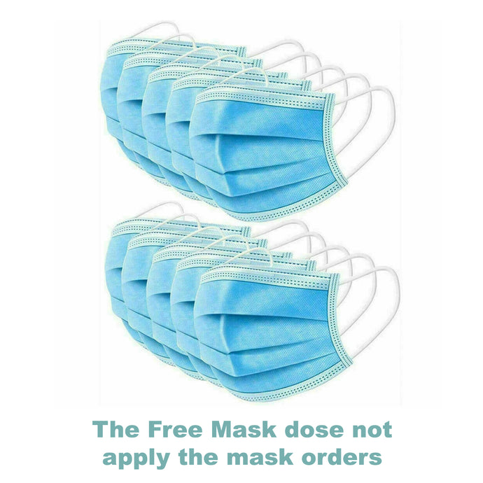 50 pcs per pack  Surgical face mask 3-Ply Disposable