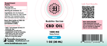 Load image into Gallery viewer, Mint Flavor CBD Oil 30ML 1000MG