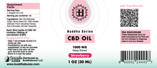 Load image into Gallery viewer, Strawberry Flavor CBD Oil 30ML 1000MG