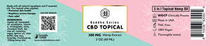 BZZZ CBD Topical, 300mg, 2 oz