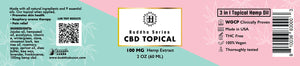 BZZZ CBD Topical, 100mg, 2 OZ