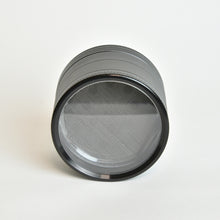Load image into Gallery viewer, BuddhaBuzzz  Aluminum Clear Bottom Herb Grinder/Crusher - zx15