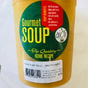 Aioli Gourmet Spicy Pumpkin Soup