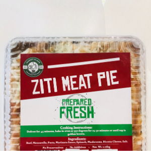 Ziti Meat Pie