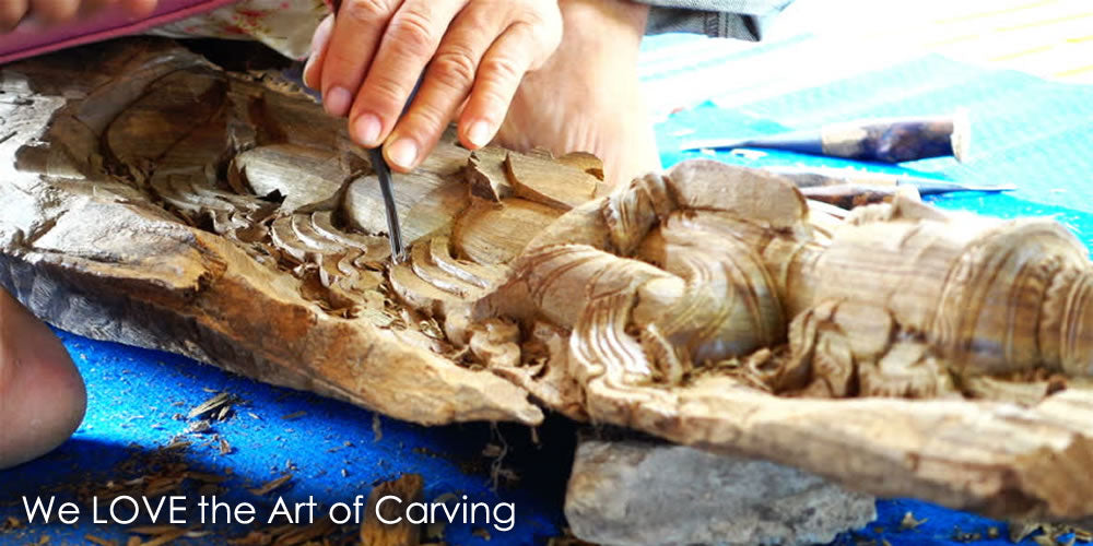 Art of Wood Carving Easternada Wooden Wall Art Sculpture Designer Furniture