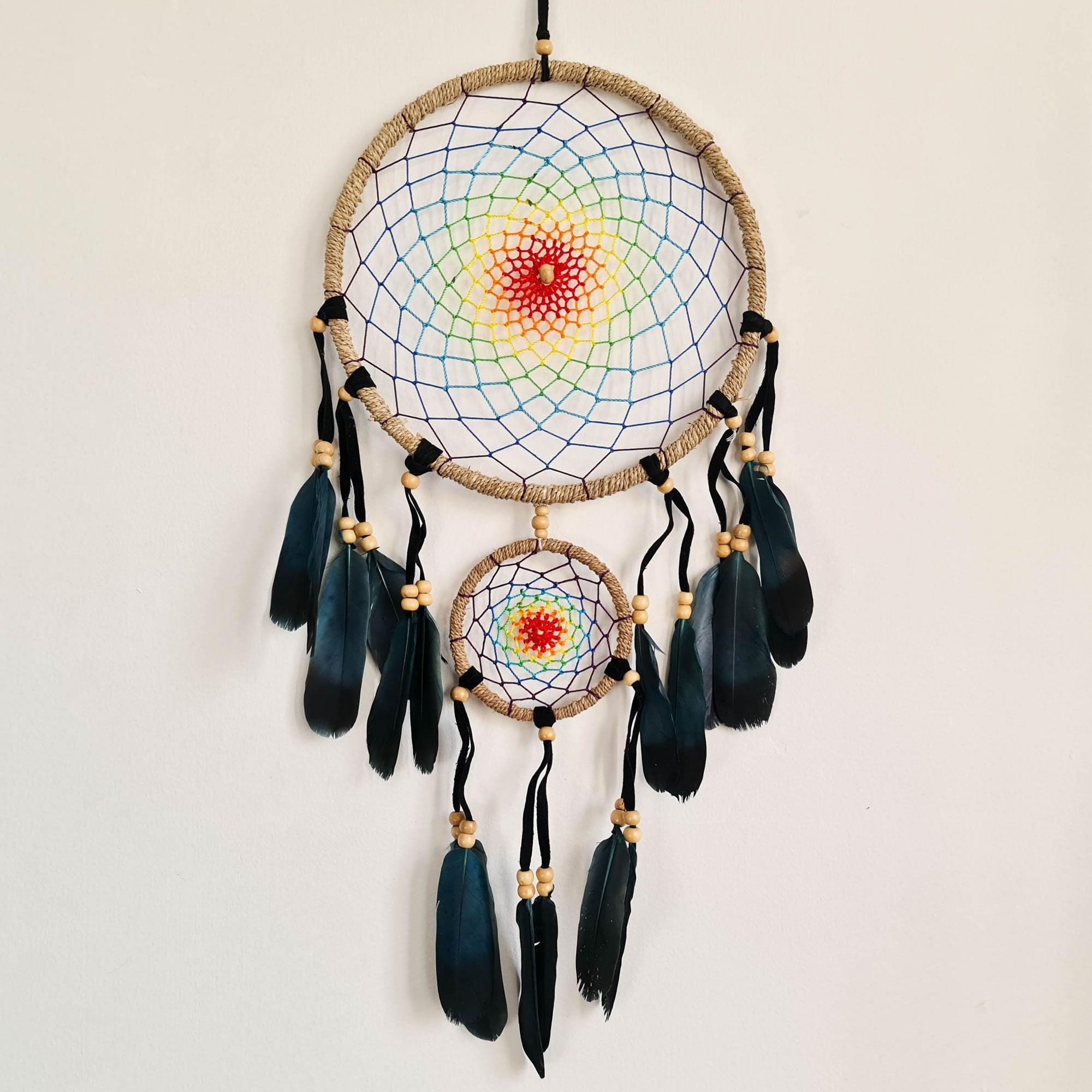 Bohemian Macramé Car Wall Hanging Dream Catcher