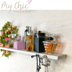 Shabby Chic Bohemian Organizer Perfume Makeup Jewelry Crystals Decorative Shelf - Easternada