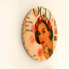 Shabby Chic Bohemian Vintage Poster Plaque Wall Decoration Hanging Art Vogue Collection