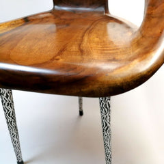 Wooden Carved Chair - Easternada