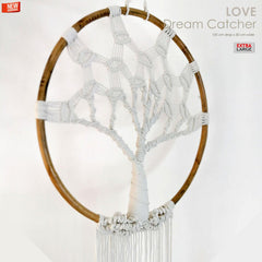 Bohemian Macrame Wall Hanging Dream Catcher Tree of Life - Easternada