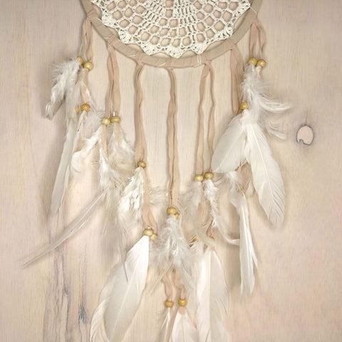 Bohemian Macrame Hanging Dream Catcher Crochet - Easternada
