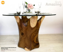 Designer Kitchen Dinning Room Furniture Solid Hardwood Dinning Table - Easternada
