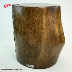 Designer Furniture Solid Wood Log Tree Stump Stool Table